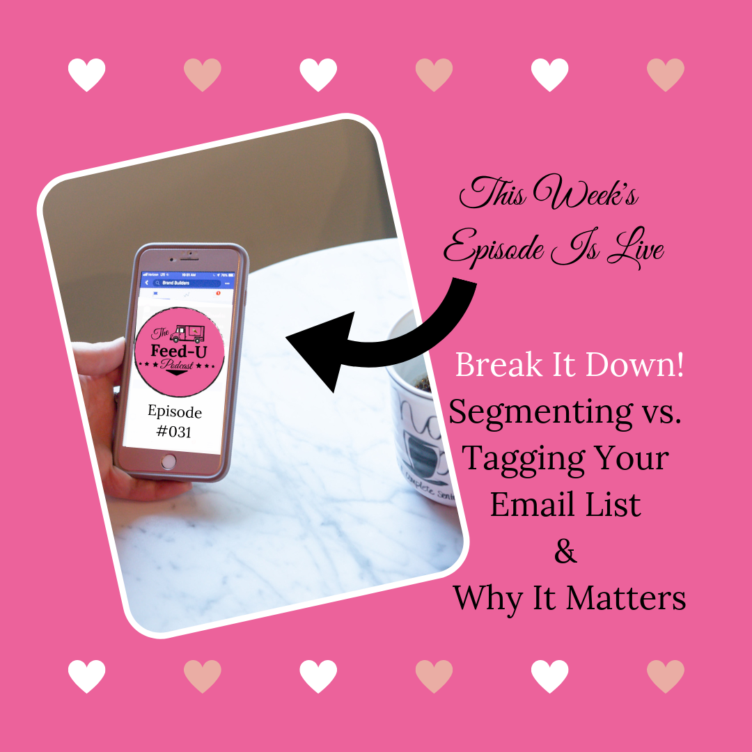 031: Break It Down! Segmenting vs. Tagging Your Email List & Why It Matters