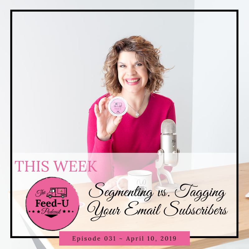 031: Breaking Down Segmenting vs. Tagging Your Email List & Why It Matters