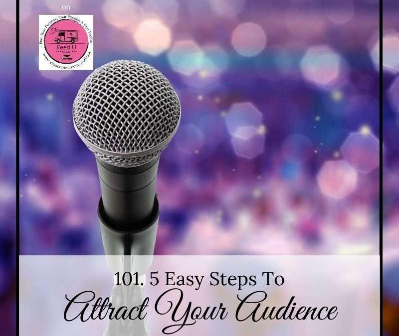 101. 5 Steps To Attracting Your Audience