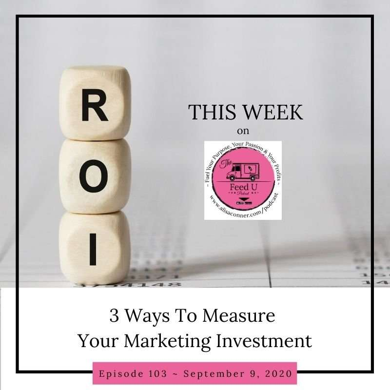 103. 3 Ways To Measure Your Marketing Investment