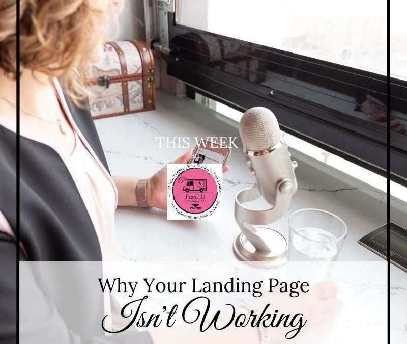 109. Why Your Landing Page Isn't Working